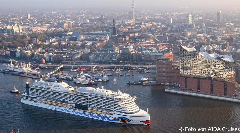 Mit AIDAprima von Hamburg nach Teneriffa, ab 1350 € p.P.