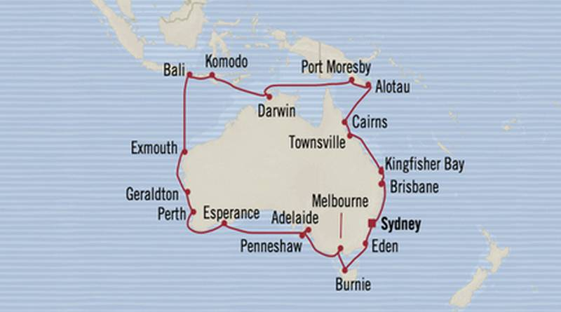 Weihnachten/Silvester 2017/2018 – Rund um Australien, inkl. Flüge, ab 9819 € p.P.