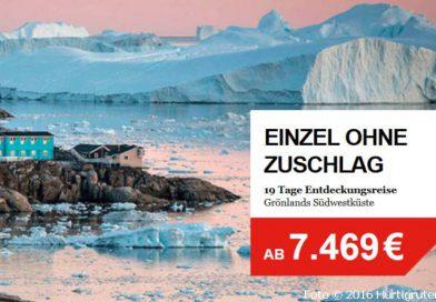 Mit der MS Spitsbergen auf Expeditionsreise nach Grönland.