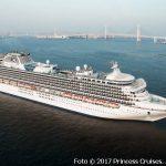 Japan Kreuzfahrt mit der Diamond Princess im Okt. 2017