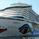 Positionierungskreuzfahrt AIDAperla Frühjahr 2018