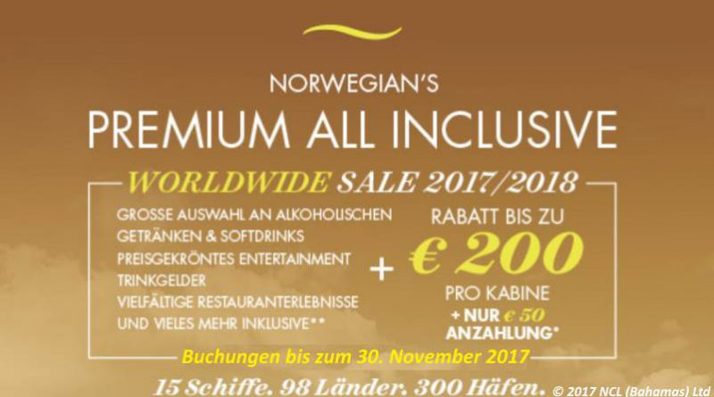 NCL, neuer Monat, neue Angebote!