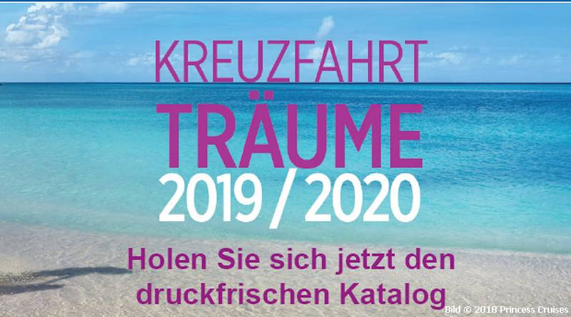 Kataloge Princess Cruises 2019/2020