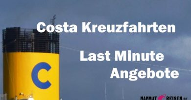Costa Oster Spezial: Last Minute Mittelmeer!