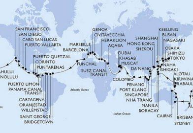 119 Tage/118 Nächte Weltreise mit MSC Poesia
