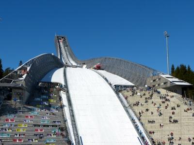 Skispringen Oslo Holmenkollen