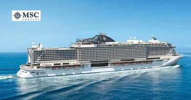 MSC Seaside mit Logo
