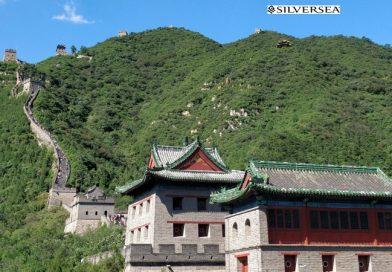 Chinesische Mauer mit SilverseaLogo