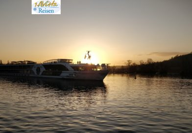 Morgenstimmung auf dem Rhein